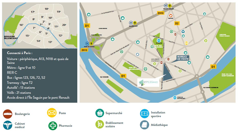 Plan localisation